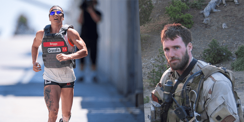 hero wod murph sam briggs wins 2015 event