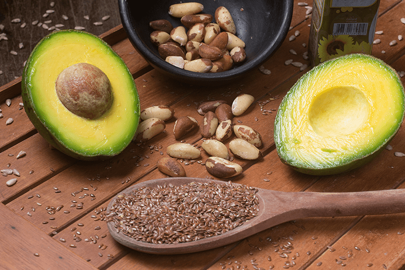 nutritional principles avacado seeds nuts