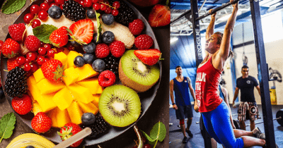 Fruits and Athlete