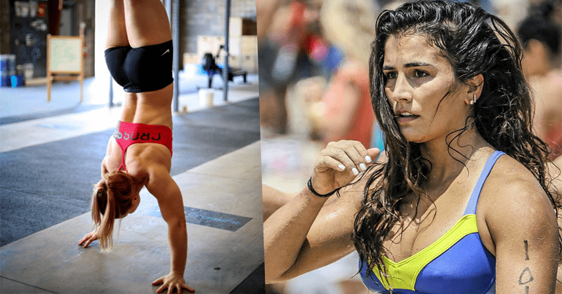Inspiring crossfit girls Sheila Barden and Lauren Fisher