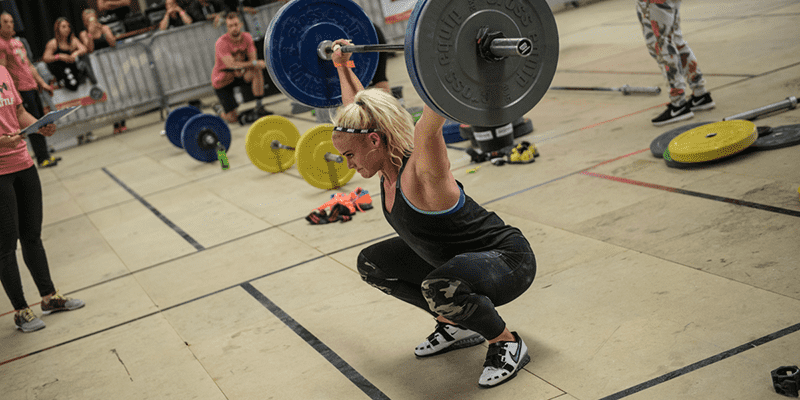 what is crossfit sara sigmundsdottir snatch
