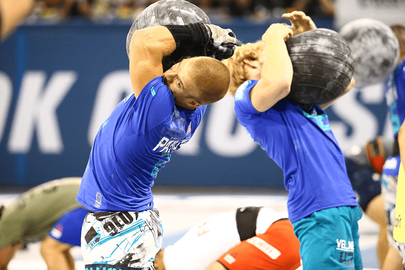 crossfit games photographs d ball cleans