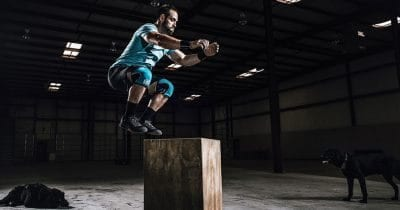rich froning rehband Knees sleeves training techniques box jumps