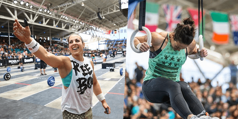 Allessandra-Pichelli at the crossfit regionals