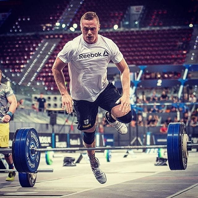 Crossfit games athlete bk gudmundsson