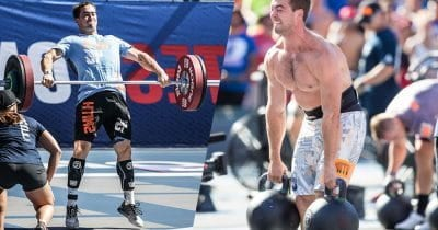 Ben Smith snatch and carry crossfit games 2015