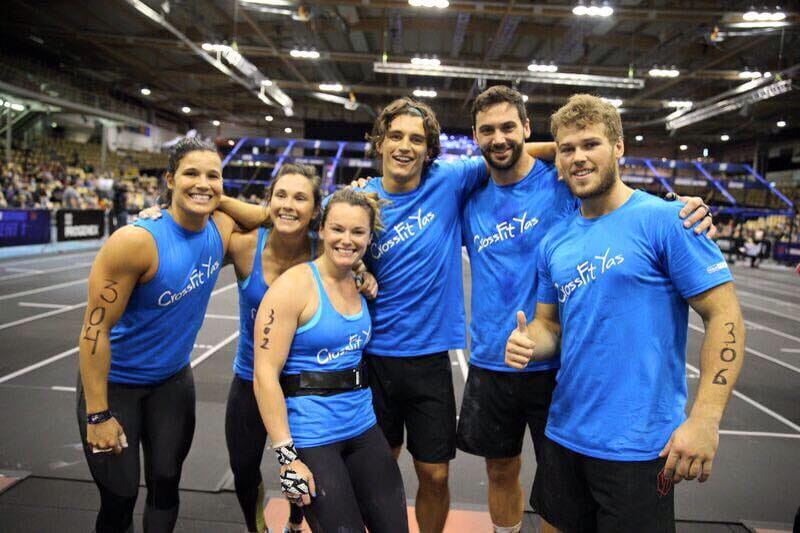 crossfit game athlete team crossfit yas