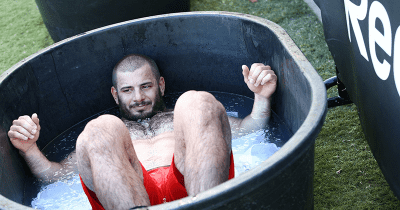 Crossfit bodyweight workouts mat fraser ice bath crossfit games photographs