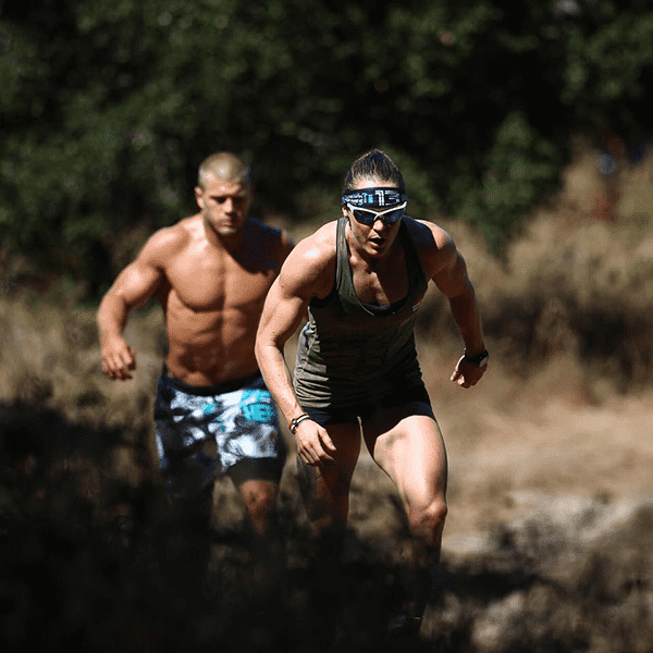 crossfit games 2016 sam briggs trail run