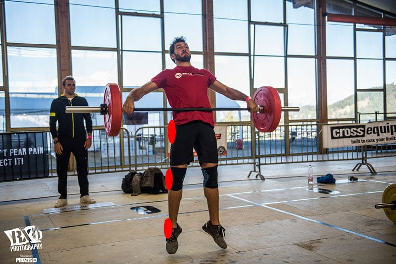 joint restriction snatch extension