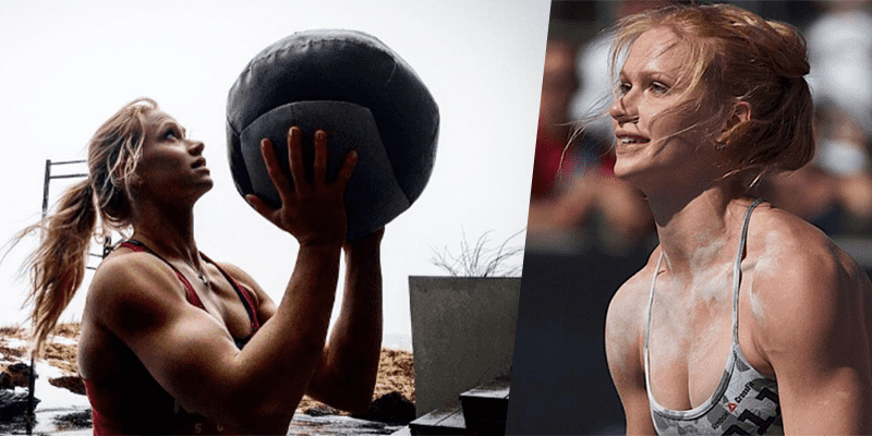 annie thorisdottir walls balls Crossfit games 2016