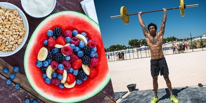 eating clean crossfit athlete