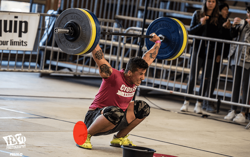 joint restrictions ankle crossfitter snatch