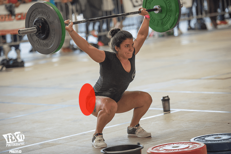 joint restrictions hips female crossfitter snatch