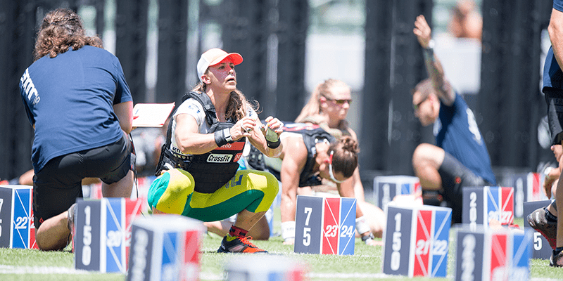 crossfit games highlights kara webb murph
