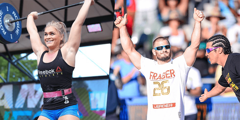 2016 Crossfit games champions mat and katrin