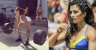 lauren fisher barbell clean