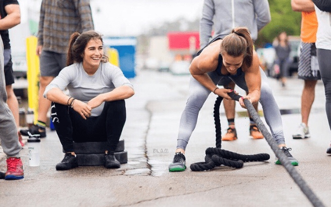 Lauren fisher crossfit athlete training