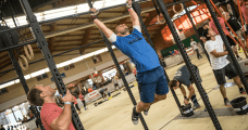 crossfit injury male athlete pull ups kipping