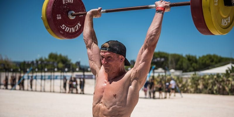 weightlifting on the beach losing weight