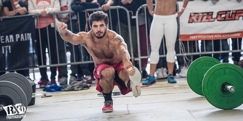 3bf3a52a63fd Mat Fraser pistol squat crossfit injury