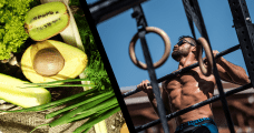 the Paleo diet male crossfitter pull ups