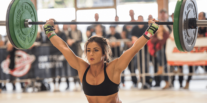 snatch mobility helps female crossfitter to lift well snatch lift