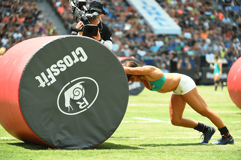 crossfit games photographs the snail