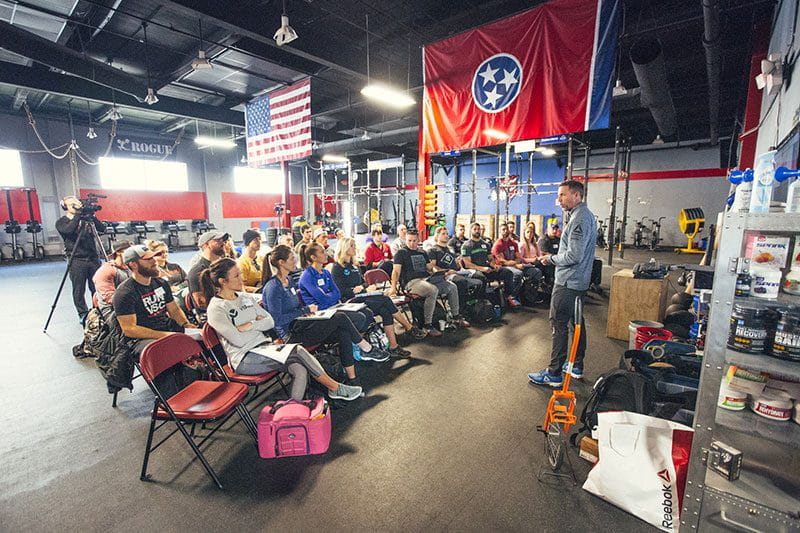 chris hishaw seminar of endurance in crossfit