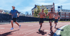 Chris Hinshaw rich froning top crossfit athletes on the track amrap wods
