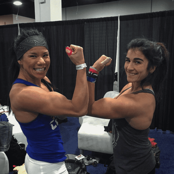 Chyna Cho and Lauren Fisher