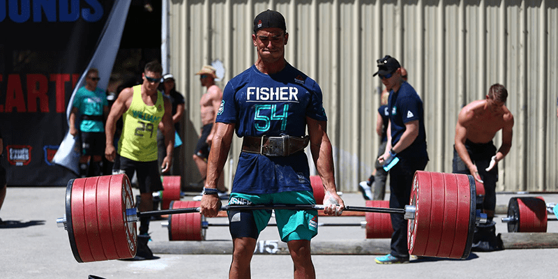mental strength garrett fisher deadlift