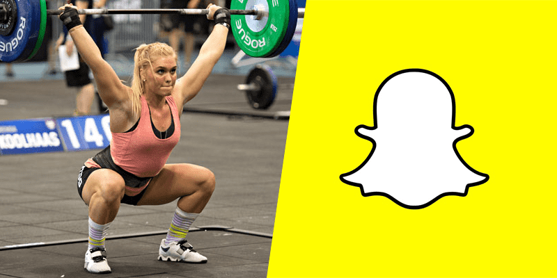 10 Crossfitters You should Follow on Snapchat