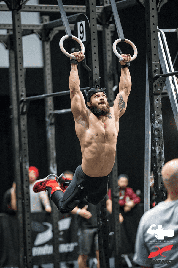 Ates Boran Turkish Crossfit athlete ring muscle up