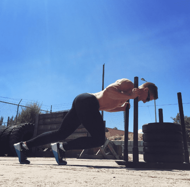 brent fikowski sled pushes crossfit the sport of fitness