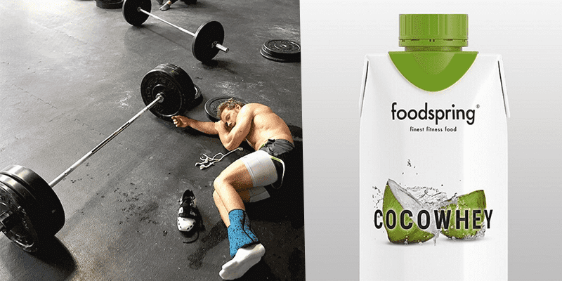 foodspring cocowhey crossfit athlete after wod