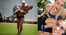 Crossfit females katrin davidsdottir and brooke wells