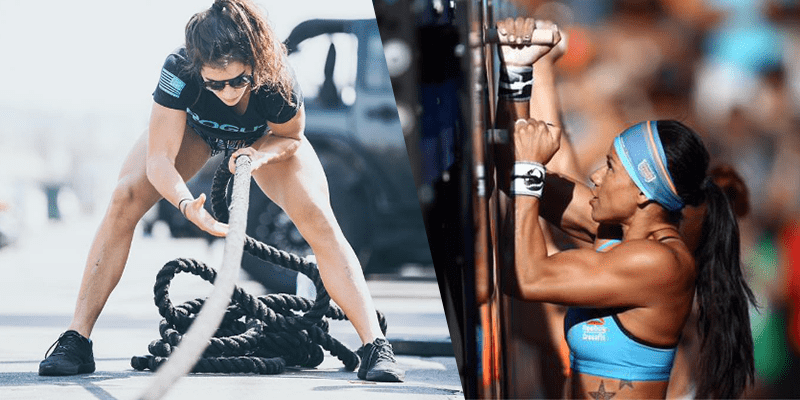Lauren fisher chyna cho crossfit games athletes sport of fitness