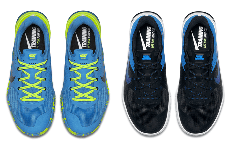 Women's nike metcon amplify 2 blue black and blue green
