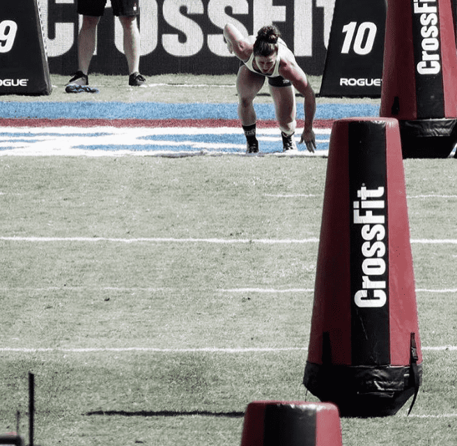 Tia Clair toomey crossfit games athlete at crossfit games