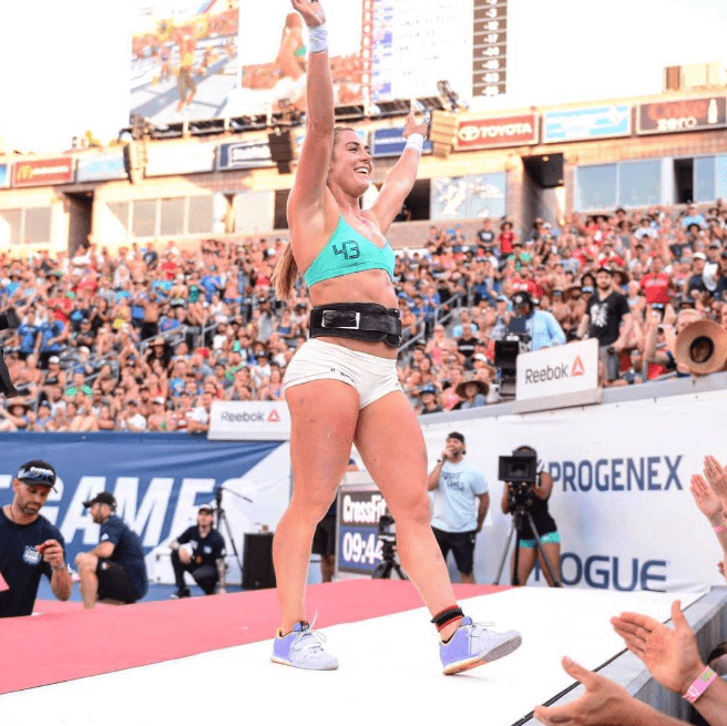 Brooke Wells Competing at 2016 CrossFit Games