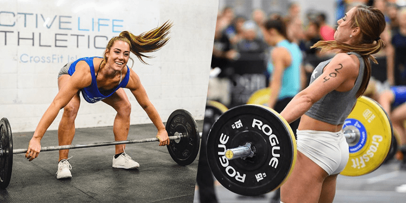 Brooke Wells crossfit games athlete weightlifting