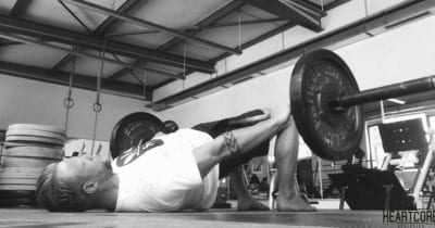 strengthen glutes with barbell