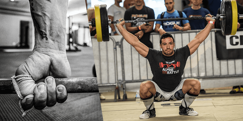 hook grip snatch lift