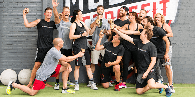 mobilis crossfit members and coaches