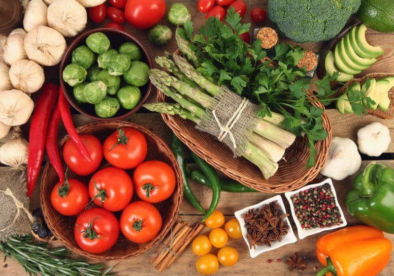 zone diet foods healthy vegetables
