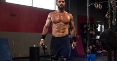 rich froning crossfit athlete training core strength