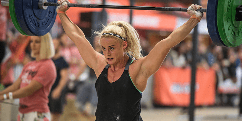 Try this Snatch and OHS Challenge from Sara Sigmundsdottir!