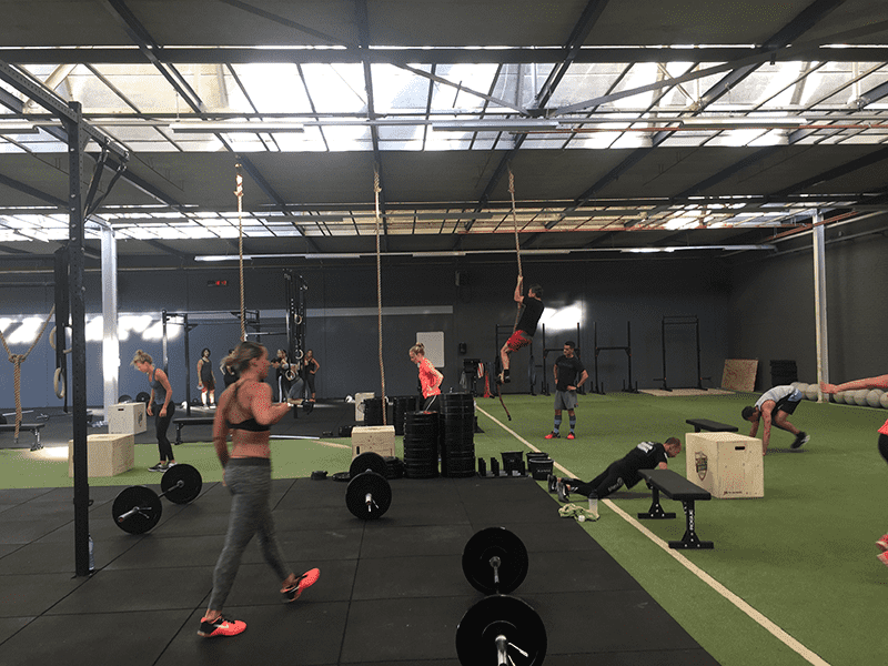 mobilis crossfit wod in action
