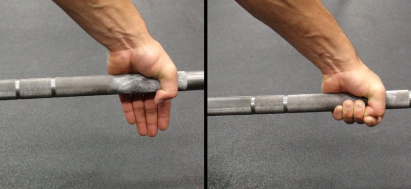 hook grip rechnique for olympic weightlifting